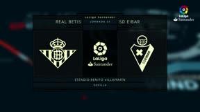 LALIGA | Betis - Eibar (2-0)