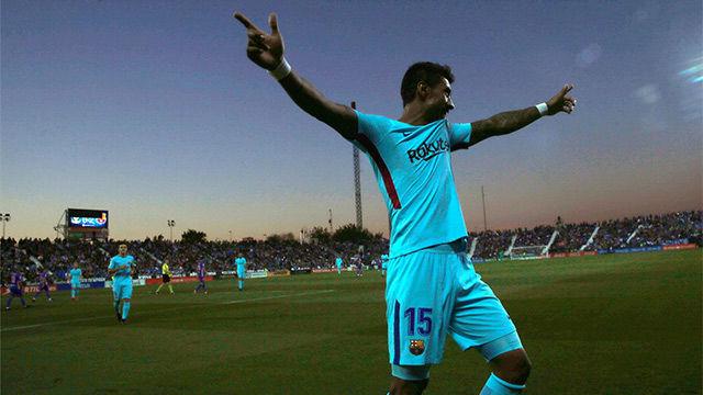 LALIGA   Leganés - FC Barcelona (0-3): Cuarto gol en liga de Paulinho