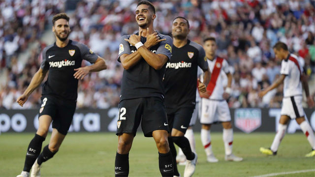 LALIGA | Rayo - Sevilla (1-4): André Silva se estrena en liga con un hat-trick