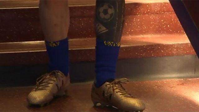 Las botas doradas de Messi