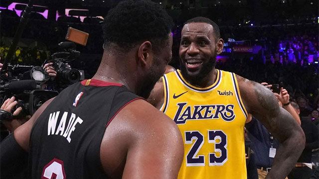 LeBron y Wade, enemigos íntimos
