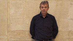 Lemaitre, durante la presentación de su nueva novela