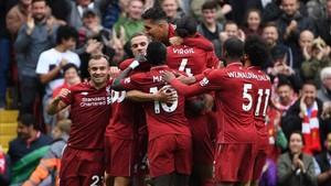 El Liverpool hace los deberes y sigue con la buena racha