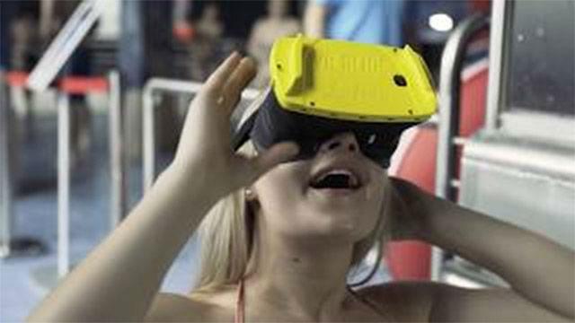Llega el primer tobogán VR a un parque acuático de Alemania