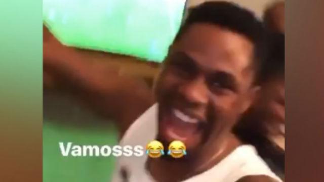 Locura en casa de los Fati con el gol de Ansu ante el Leganés