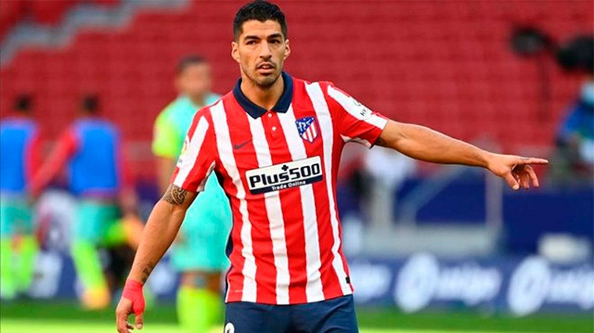 Luis Suárez, duda para el once contra el Salzburgo