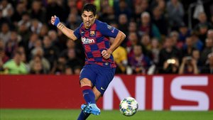 Luis Suárez ha sido una pesadilla para la portería del Mallorca