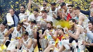El Madrid conquistó la Euroliga y Doncic fue elegido MVP de la Final Four