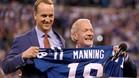 Manning vio como retiraban el dorsal 18 de los Colts