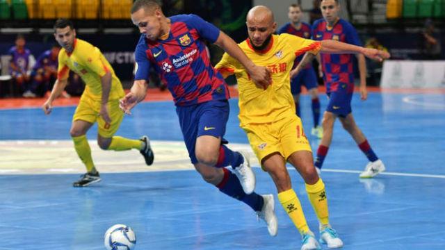 La maravilla de Ferrao con la que el Barça se estrena en la Intercontinental