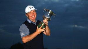 McGowan volvió a ganar un torneo 11 años después