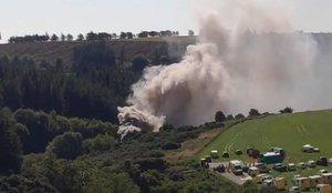 Al menos 3 muertos y varios heridos por un grave descarrilamiento de tren en Escocia