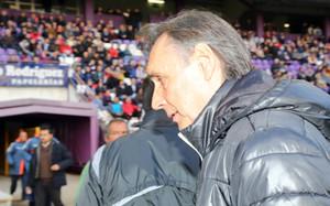 Miguel Ángel Portugal, cesado como técnico del Valladolid