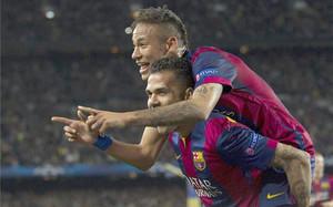 Neymar volvió a ser decisivo de cara a gol