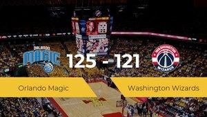 Orlando Magic logra vencer a Washington Wizards en el Amway Center (125-121)