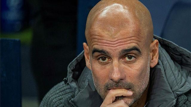 El recado de Guardiola a Mateu Lahoz por el polémico penalti a Sterling