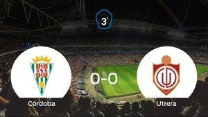Reparto de puntos entre el Córdoba B y el Utrera (0-0)