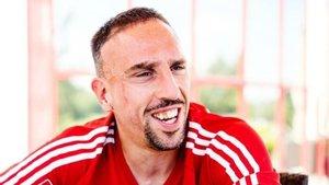 Ribéry muestra su enfado con su aspecto en FIFA 20