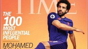 Salah es la portada de la revista Time