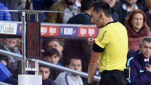 Sánchez Martínez pitará la vuelta de la Copa del Rey en el Camp Nou
