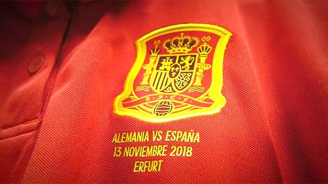 La Selección española femenina ya luce nombre en los dorsales