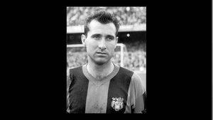 Sígfrid Grácia con la camiseta del FC Barcelona, el club de su vida
