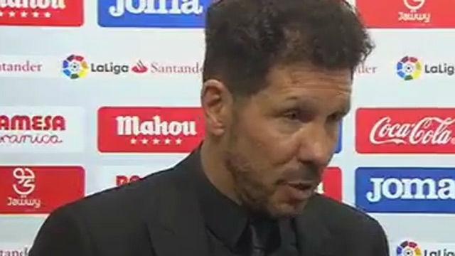 El 'mea culpa' de Simeone que puede costarle la Liga