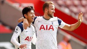 Son y Kane forman la segunda mejor pareja de la historia de la Premier