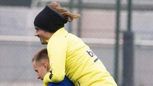 Ter Stegen y Griezmann, claves en el Barça