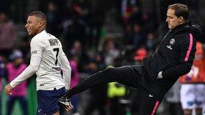 Tuchel y su PSG dependen de los goles de su estrella, Kylian Mbappé.