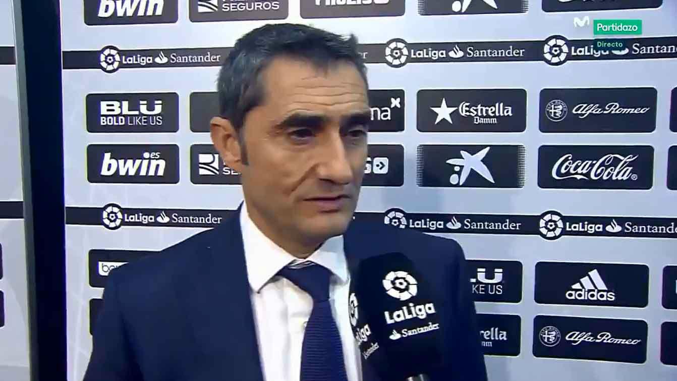Valverde comentó los cambios de la banda derecha