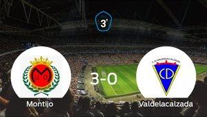 Victoria para el Montijo tras golear al Valdelacalzada 3-0