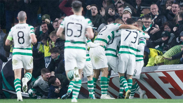 Victoria por la mínima del Celtic al Rosenborg