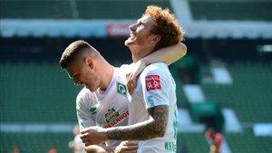 El Werder Bremen ganó 6-1 al Colonia