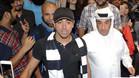 Xavi llegó a Catar bajo una enorme expectación