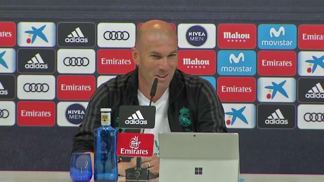 Zidane: La Liga es lo más difícil, pero la Champions es la hostia