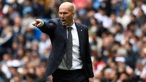 Zidane perdió el último partido de la temporada del Madrid ante el Betis