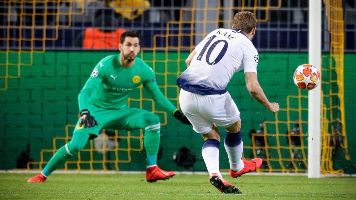 Lloris y Kane dan el pase al Tottenham ante un Dortmund estéril b052bdabf41