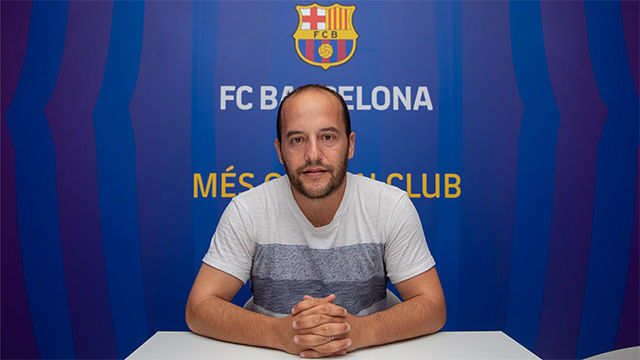 """Barça women's team coach Lluís Cortés: """"We have the squad"""