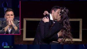 Adara y Hugo se reencuentran con un apasionado beso en GH VIP 7