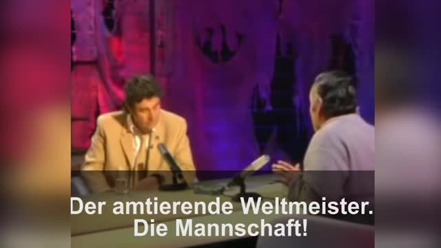Alemania se ríe de su derrota con un vídeo de Risitas