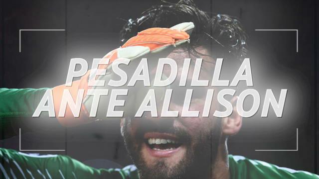 Alisson, la pesadilla del Barça en Champions