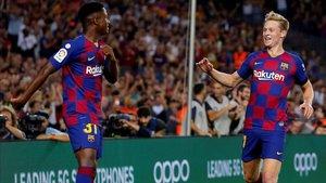Ansu Fati y De Jong pueden jugar por primera vez con el Barça en el Bernabéu