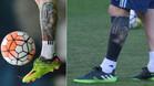 El antes y el después del tatuaje de Leo Messi