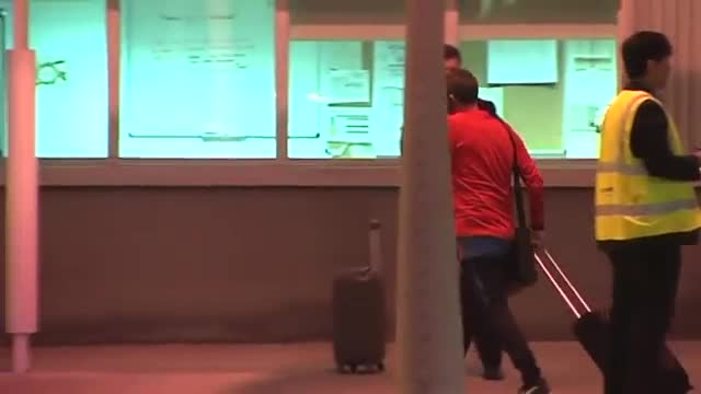 Así fue la llegada del Barça a Sudáfrica