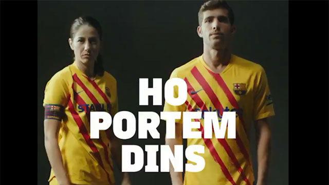 Así reaccionaron Sergi Roberto y Vicky Losada a la nueva equipación del Barça