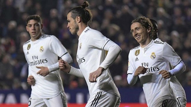 Bale estaba enfadado ante el Levante por no poder ver el Mundial de golf