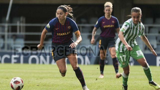 El Barça femenino prepara el Clásico de este domingo ante el Atlético
