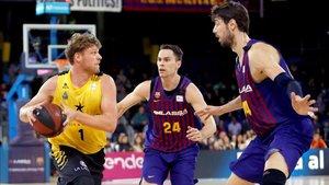 El Barça ya sabe como se las gasta el Iberostar Tenerife