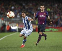 FC Barcelona, 2 - Real Sociedad, 1